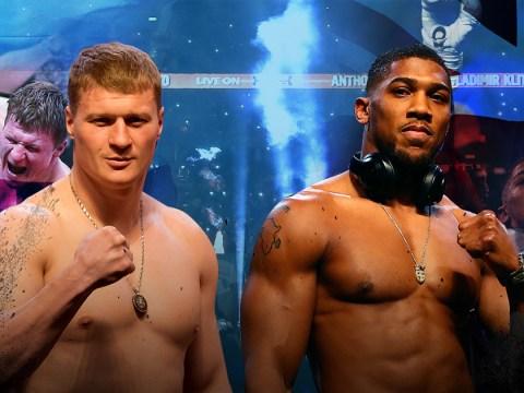 Anthony Joshua vs Alexander Povetkin LIVE: AJ returns to form with stunning KO