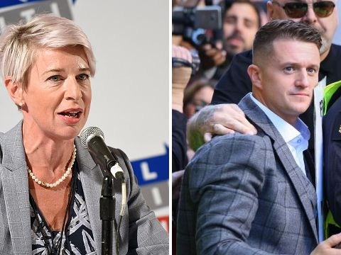 Katie Hopkins risks jail as she shares video of Tommy Robinson taken inside court