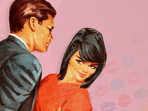 Should you ever kiss someone on the cheek when meeting them in a work context?