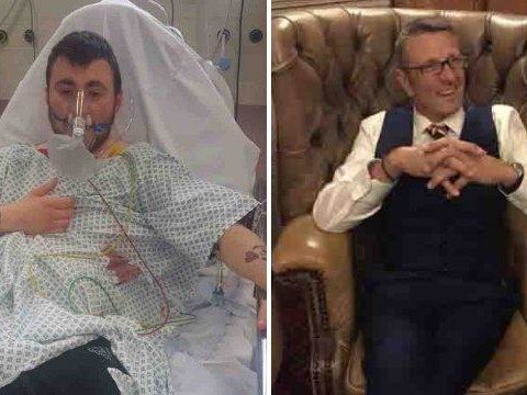 Man who 'died for 12 seconds' says he owes his life to his decorator