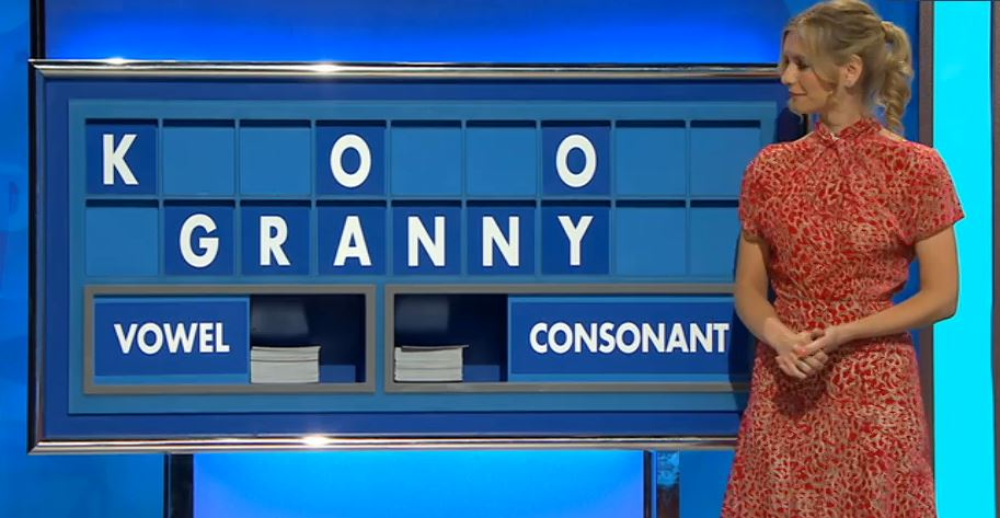 Rachel Riley marvels as Countdown board spells 'Granny' in episode aired just hours after her beloved nan's death