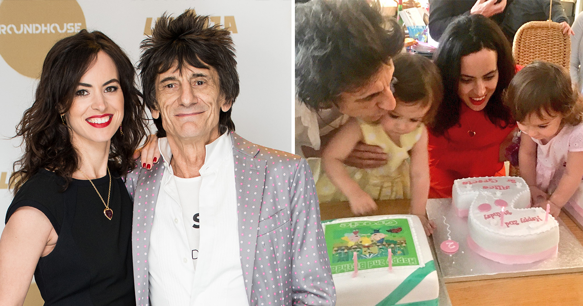 Ronnie Wood, 71, and wife Sally would 'love' to have more children: 'Twins are easier'