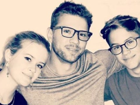 We need to talk about ageless Ryan Phillippe and his mini-me children with Reese Witherspoon