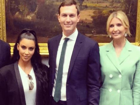 Why did Kim Kardashian go to the White House to meet Ivanka Trump?