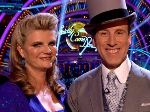Susannah Constantine and Anton Du Beke earn lowest scoring foxtrot in Strictly history