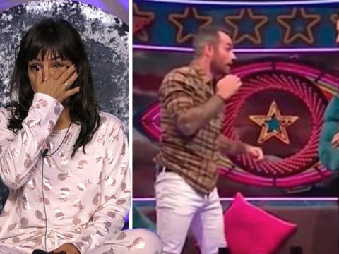 CBB's Ben Jardine demonstrates how hard Roxanne Pallett claimed Ryan Thomas was punched her