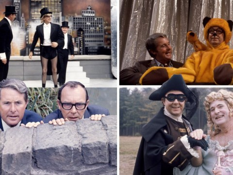 Morecambe and Wise's 50th anniversary celebrated by BBC with never-before-seen photos