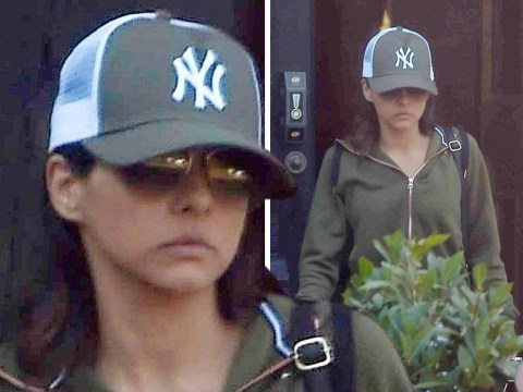 Roxanne Pallett looks downcast as she emerges after quitting CBB amid accusations against Ryan Thomas
