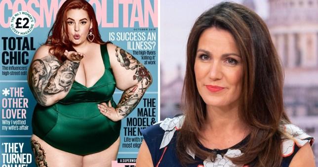 Susanna Reid defends Tess Holliday Cosmo cover