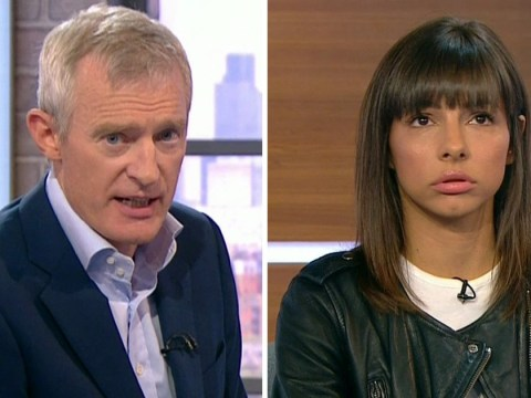 Jeremy Vine went easy on Roxanne Pallett 'because he feared she would take own life'