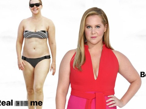 Amy Schumer calls out body-shamer after he gives her Photoshop treatment