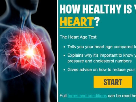 Online test reveals how likely it is you'll have a heart attack