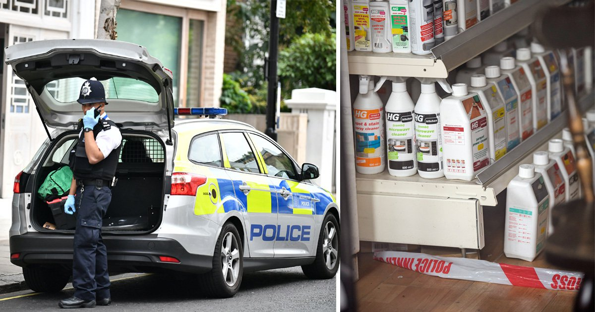 Three injured in suspected acid attack in west London