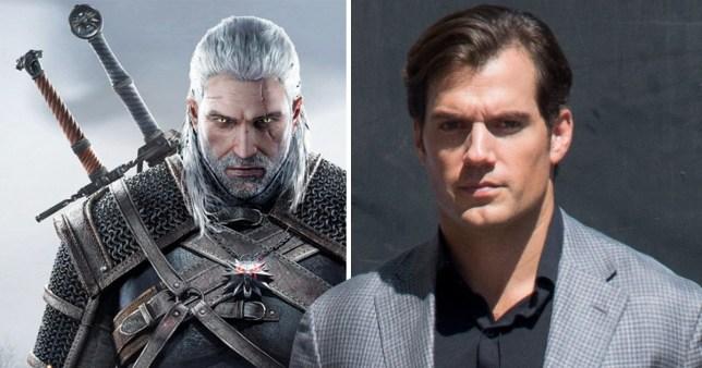Henry Cavill cast as Geralt of Rivia in Netflix's The