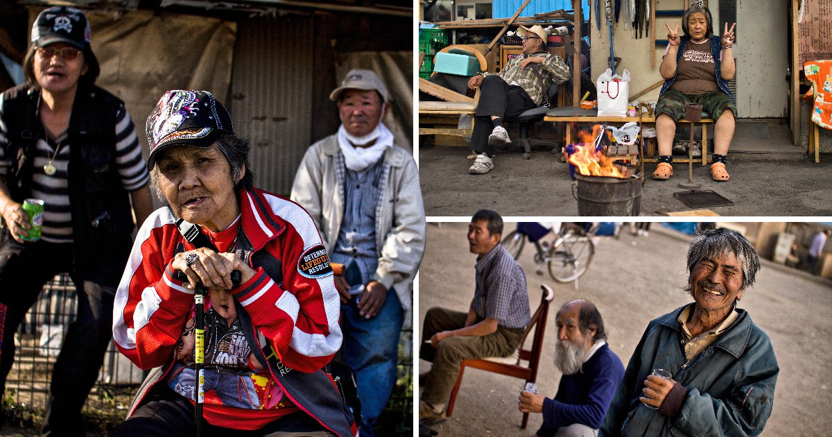 Japanese slums show poverty is still rife in the world's third largest economy