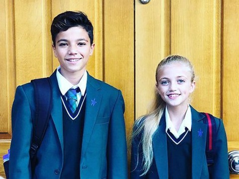 Peter Andre gets emotional on his children's first day back at secondary school