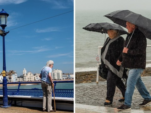 North-south divide for UK weather as sun manages a partial return next week