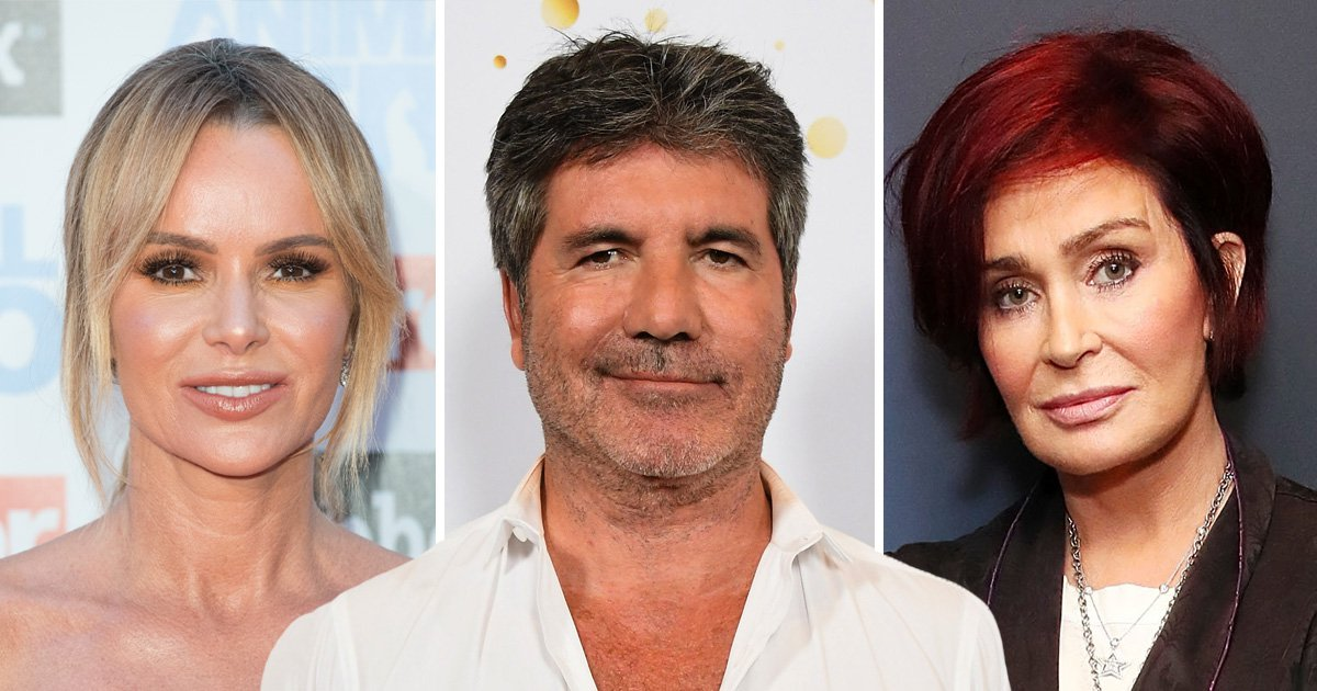 Amanda Holden reckons Simon Cowell 'loves a rulebreaker' so won't care about Sharon Osbourne's X Factor comments