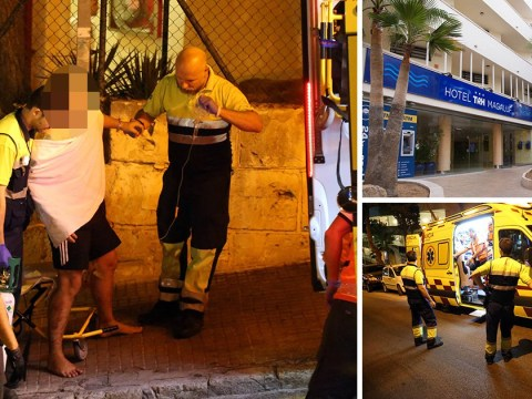 Four arrested after British tourist stabbed six times in Magaluf fight