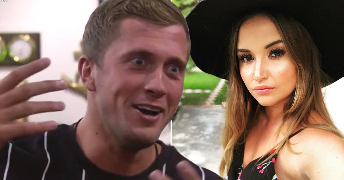 Dan Osborne gets graphic and confesses to Kirstie Alley he's had a wet dream about Jacqueline Jossa inside CBB house