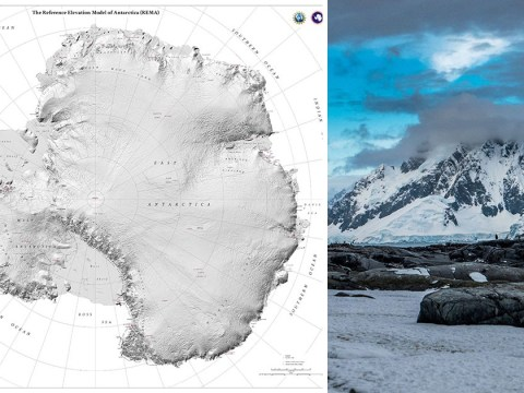 Scientists map Antarctica in unprecedented detail using supercomputer and satellite images
