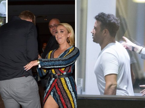 Ryan Thomas celebrates Celebrity Big Brother triumph as Gabby Allen, Emma Willis and more cut loose at after-party