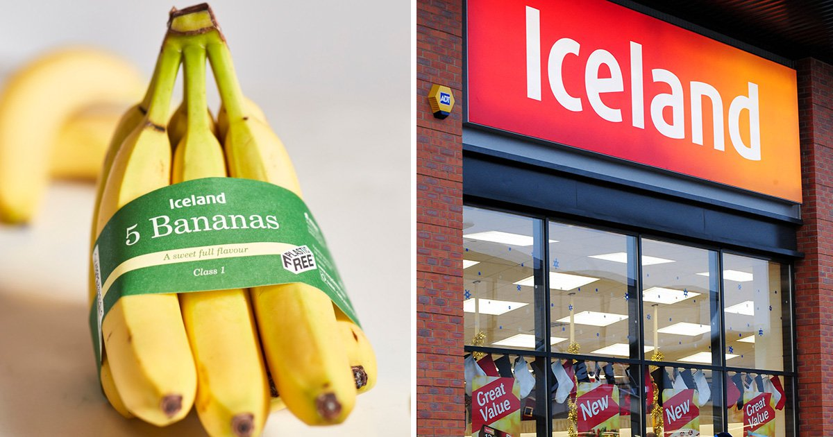 Supermarket Iceland ditches plastic wrap on bananas in bid to save 10,000,000 bags