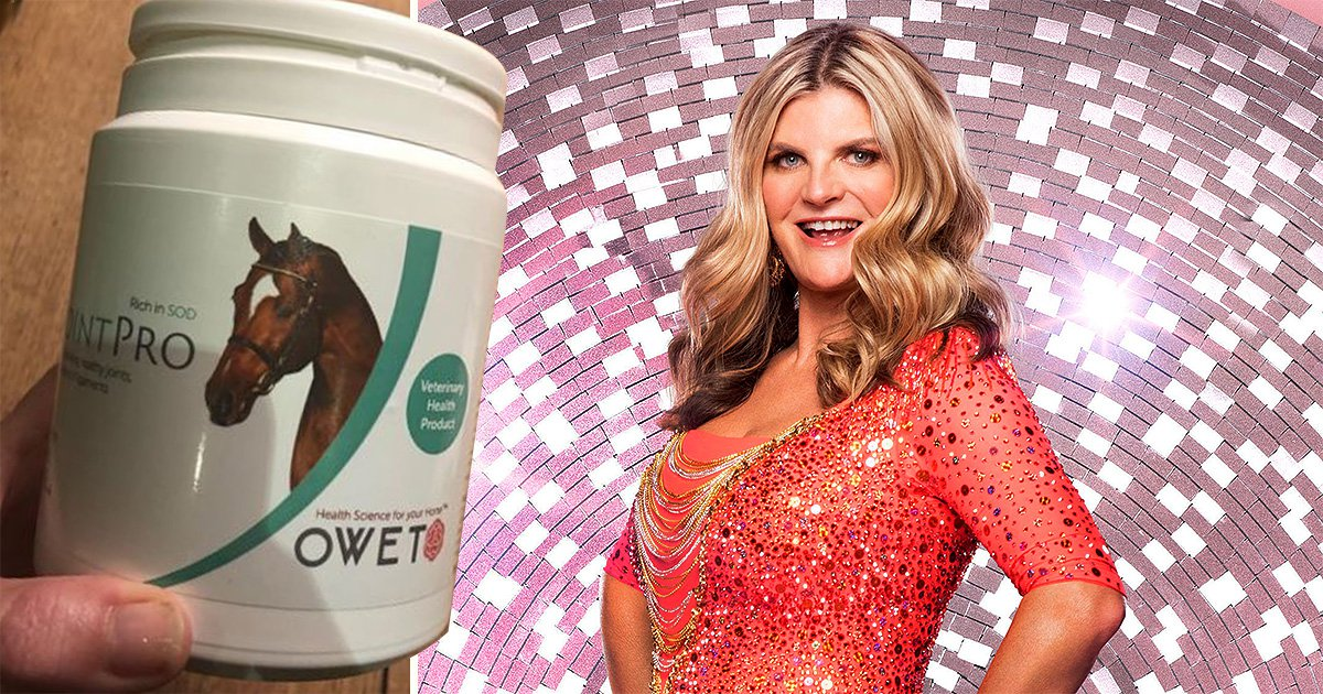 Susannah Constantine is taking horse medication in preparation for Strictly Come Dancing which is actually kind of fabulous