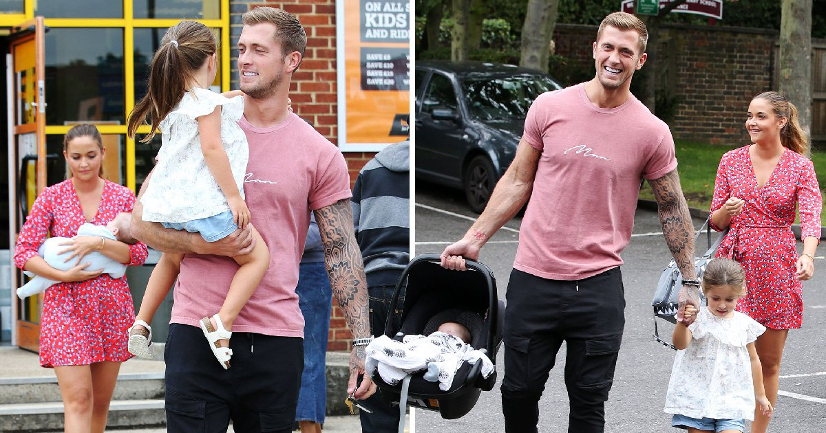 Dan Osborne and Jacqueline Jossa enjoy happy family day out as 'CBB saves marriage'