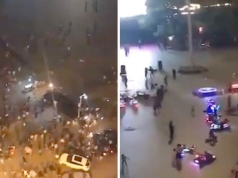 Nine dead and dozens injured after SUV ploughs into crowd in China