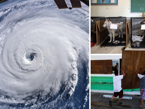 Monster storm Florence heads for land as officials say 'disaster is at the doorstep'