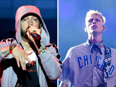 Eminem and Machine Gun Kelly's diss tracks were produced by the same person