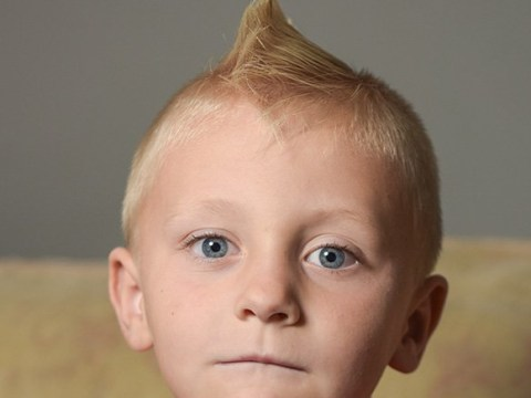 Boy, 6, banned from school because his mohawk could 'poke someone in the eye'