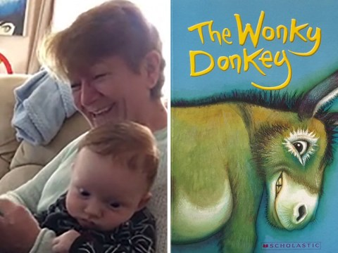 Gran's hilarious video has led to Wonky Donkey children's book selling out