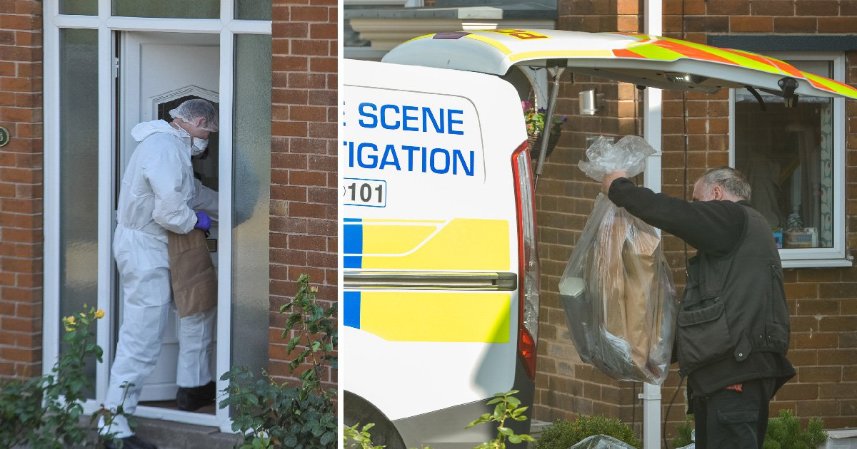 Woman, 83, arrested on suspicion of murdering partner, 85, who was found stabbed