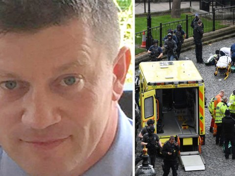 Rescuer said 'come on son' to PC Keith Palmer as he lay dying in Westminster terror attack