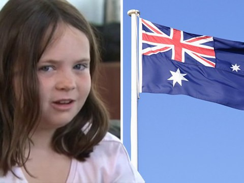 Politicians call girl, 9, 'brainwashed' for not standing during national anthem