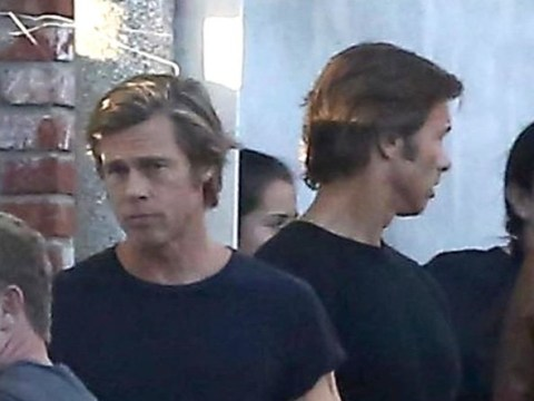 Is Brad Pitt's Once Upon A Time In Hollywood body double a secret identical twin?
