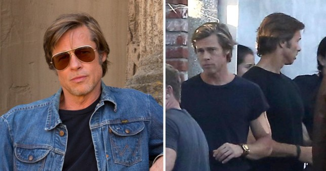 ec1d8f844360 Is Brad Pitt's Once Upon A Time In Hollywood body double a secret identical  twin?