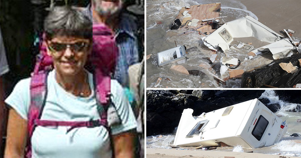 Tributes paid to Swiss tourist killed in Ireland after caravan blown off cliff during Storm Ali