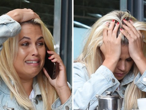Nadia Essex spotted 'in tears' on the phone after Celebs Go Dating axe