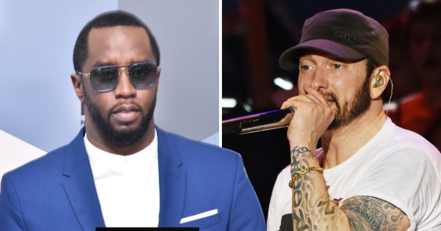 Diddy is 'handling' Eminem behind the scenes after diss tracks