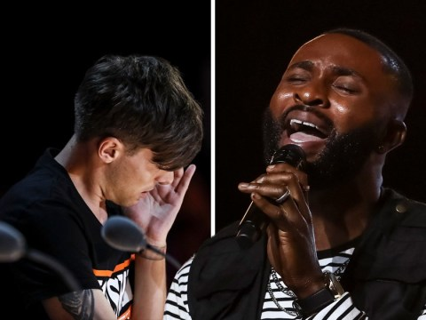 Louis Tomlinson brought to tears by J-Sol as X Factor singer's audition reminds him of late mother