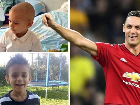 Man United's Nemanja Matic named as secret donor behind boy's cancer treatment