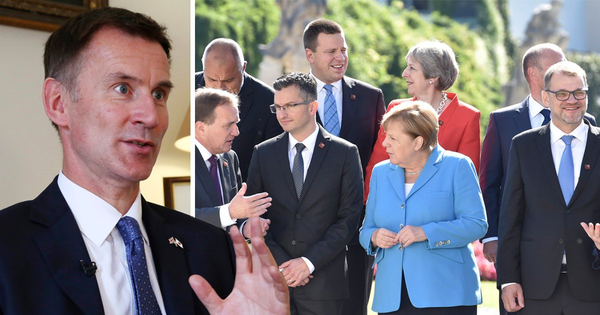 Jeremy Hunt urges EU to 'step back from the abyss' of Brexit no deal