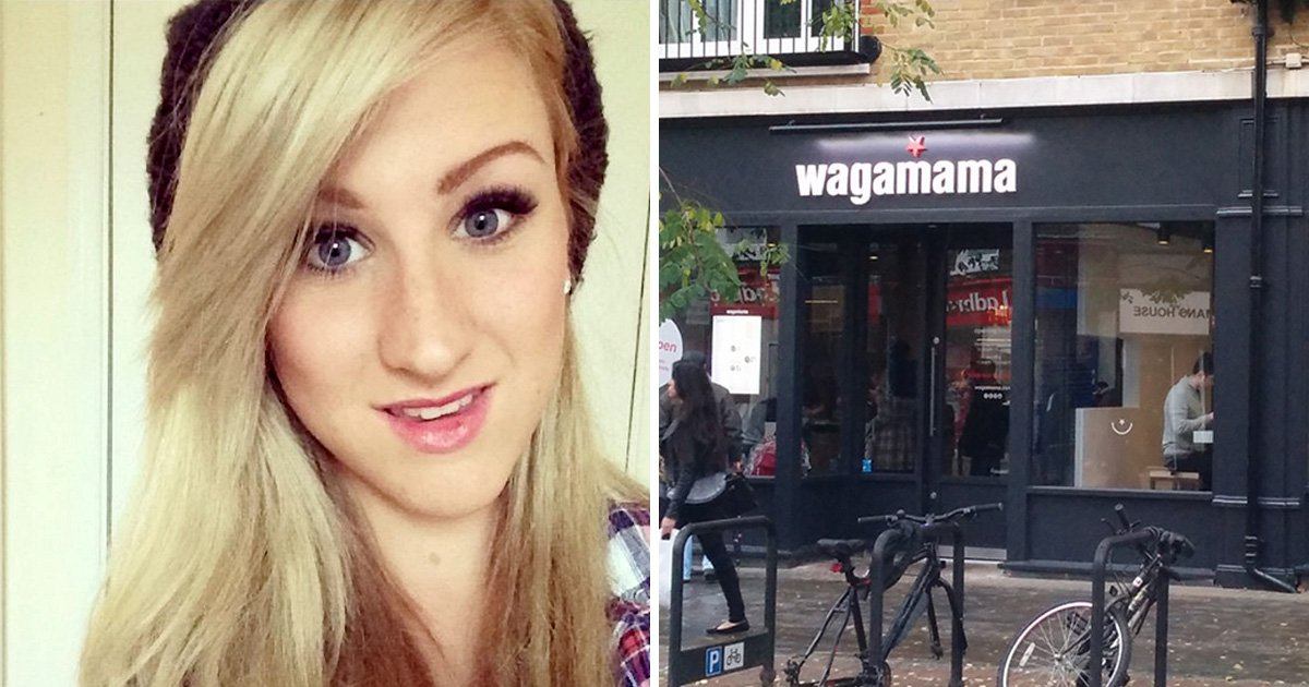 Teenage girl died of natural causes after anniversary meal at Wagamama