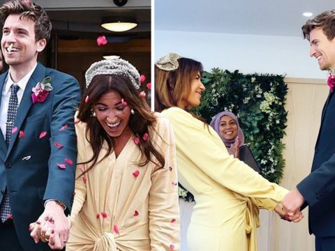 Greg James shares adorable tribute to new wife Bella Mackie as Radio 1 DJ gets married