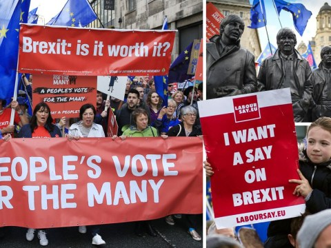 Labour MPs join thousands of marchers to demand People's Vote on Brexit