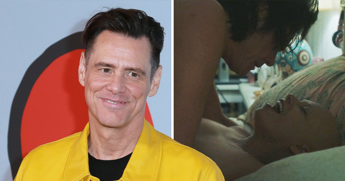 Jim Carrey surprises fans after getting hot and heavy in a steamy sex scene