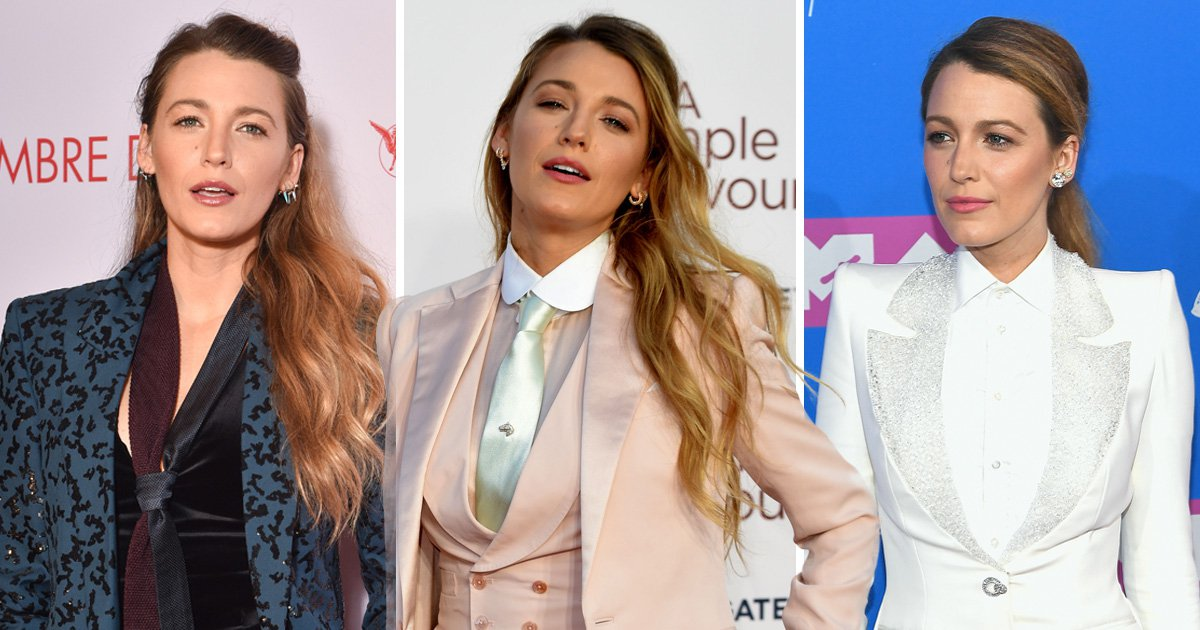 Blake Lively is not here for your criticism of her love of power suits